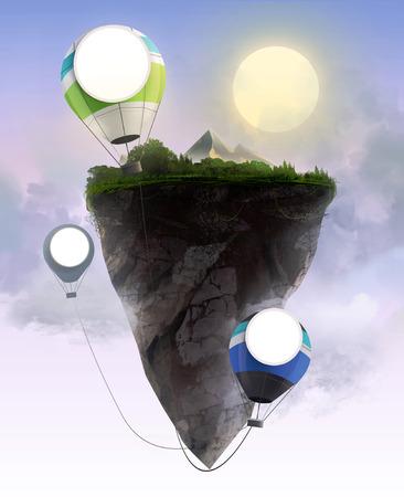 Flying rock