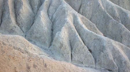 Texture backdrop photo of white chalk mountain hills. Banque d'images