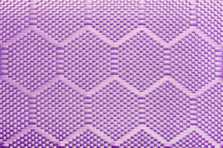 Texture backdrop photo of purple colored synthetic cloth texture pattern. Banque d'images