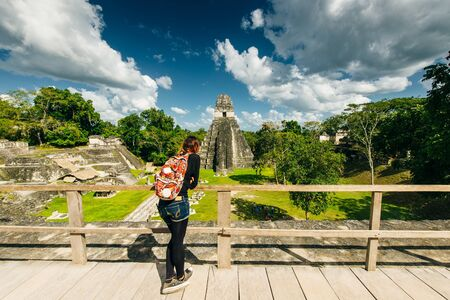 TIKAL, GUATEMALA AUGUST located in El Peten department, Tikal National Park.
