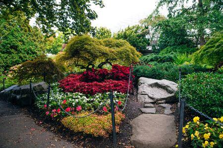 Overview of Vancouver Queen Elizabeth Park.