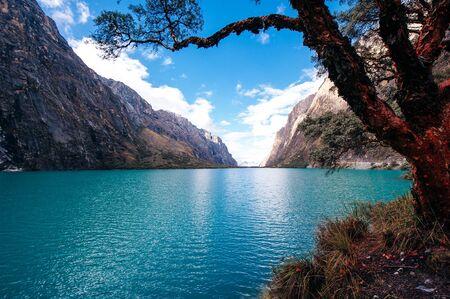 Wonderful view of Laguna Paron - Huaraz Peru. Banco de Imagens