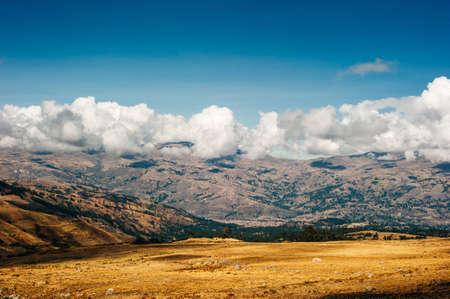 Trekking to Laguna 69, huaraz, peru - dec, 2019 trail on Cordillera Blanca