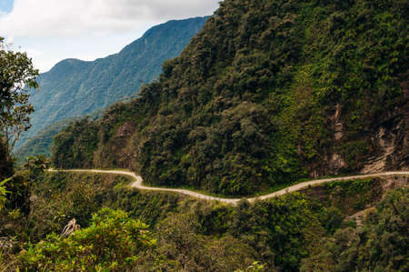 The Death Road is one of the most dangerous roads in the world