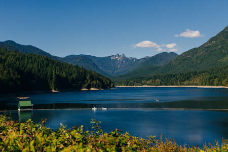 Cleveland Dam. North Vancouver, British Columbia, Canada.