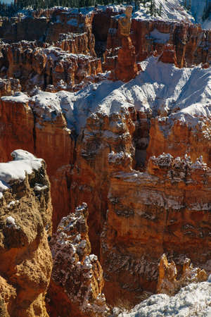 Superb view of Inspiration Point of Bryce Canyon National Park at Utah.