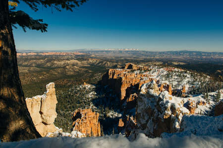 Superb view of Inspiration Point of Bryce Canyon National Park at Utah
