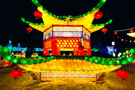 Chinese New Year Lighting Installation for year