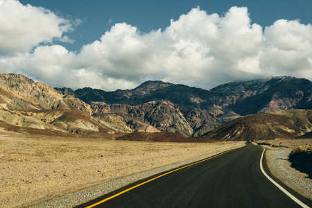 Artists Drive in Death Valley National Park, California, USA.