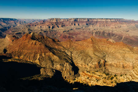 View over the Grand Canyon from the south rim