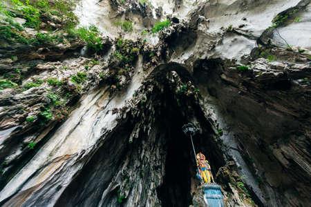 Batu Caves statue and entrance near Kuala Lumpur, Malaysia Redakční