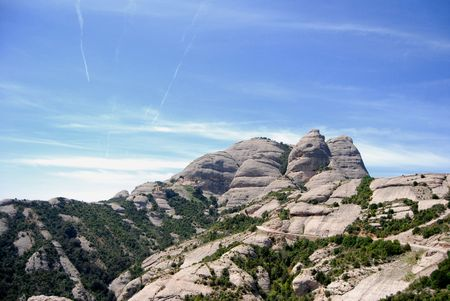 Montserrat mountain. Catalonia, Spain. photo