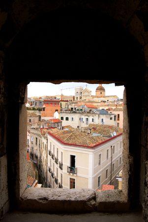 sardinia: Cagliari. Sardinia, Italy Stock Photo