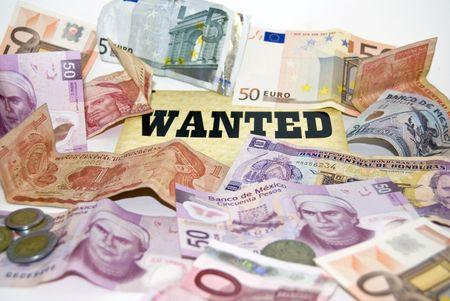 wirtschaftskrise: Wirtschaftskrise, ejemplified nach W�hrungen aus verschiedenen L�ndern.