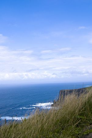 moher: Irish landscape at the Cliffs of Moher