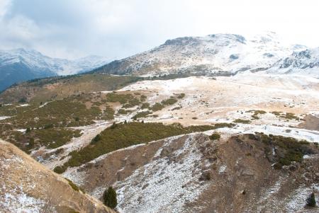 Winter landscape at Boi Taull, Catalonia Spain  photo