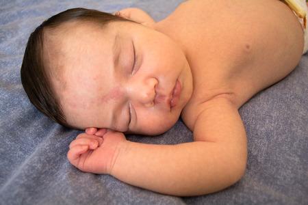 tender tenderness: Newborn baby under three months old