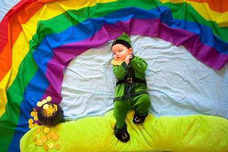 saint: Saint Patricks Day - Irish baby