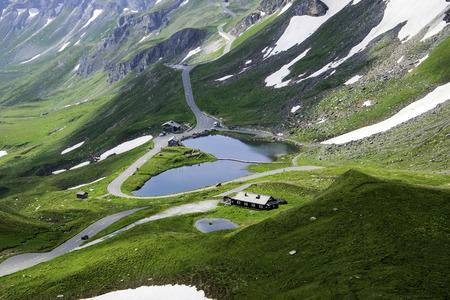 grossglockner: Grossglockner Alps Stock Photo