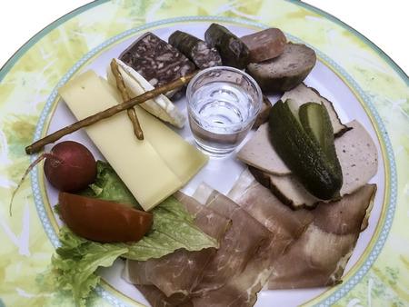 snack: Bavarian snack