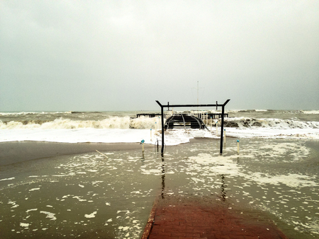 stormy sea: Stormy Sea Stock Photo