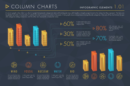 Infographic Elements Vol.1 - Column Charts