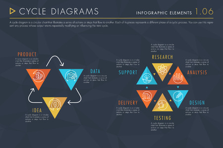 Infographic Elements Vol.1 - Cycle Diagrams
