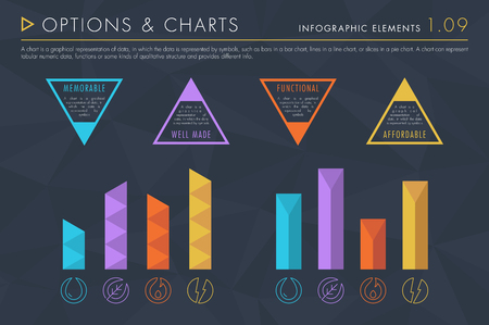Infographic Elements Vol.1 - Options and Charts