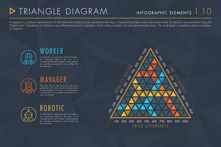 Infographic Elements Vol.1 - Triangle Diagram