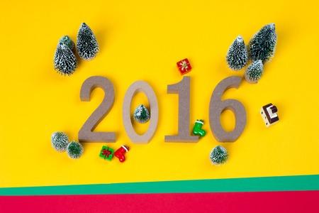 12 days of christmas: 2017 happy new year Stock Photo