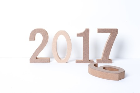 2017 happy new year Stok Fotoğraf