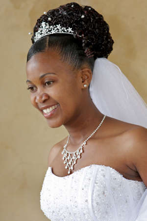 A bride on her wedding day Stock Photo - 3305554