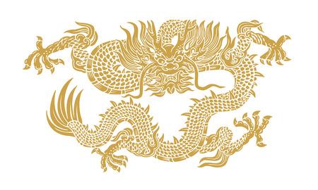 Dragon d'Or Banque d'images - 30826517