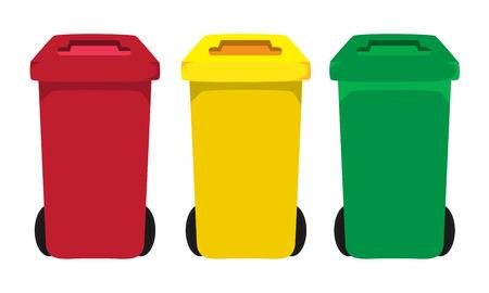 vuilnisbakken vector