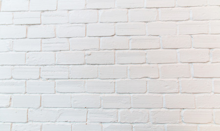 ladrillo: Pared de ladrillo cuadrado blanco textura de fondo