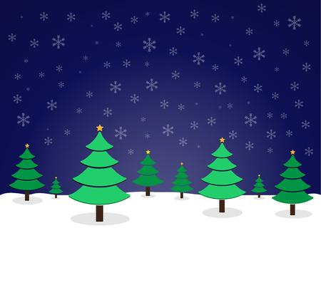 albero pino: pino di Natale Vettoriali