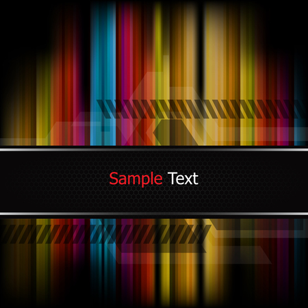 gaudy: Strips colorful background vector Illustration