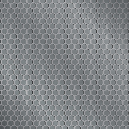 to grate: grate metal background vector