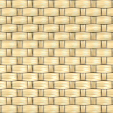 bamboo stick: bamboo weave texture and background vector