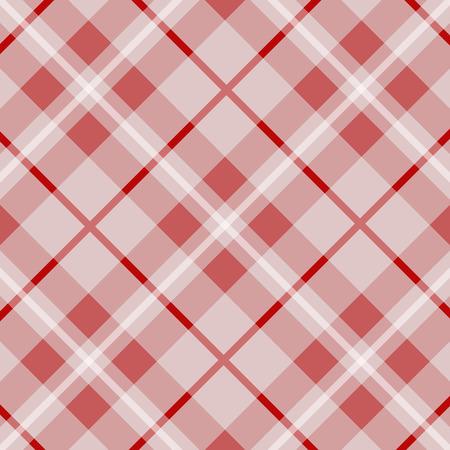 loincloth: tartan pattern, red loincloth, background vector