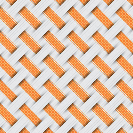 braided: braided weave pattern, gray background vector