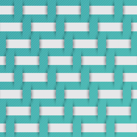 braided: braided weave pattern, blue background vector