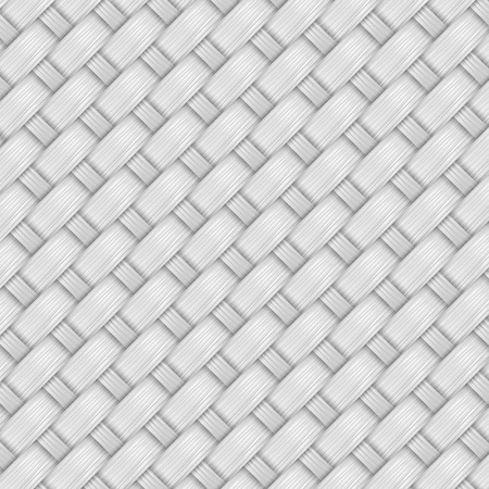 gray bamboo weave texture and background vector Illustration