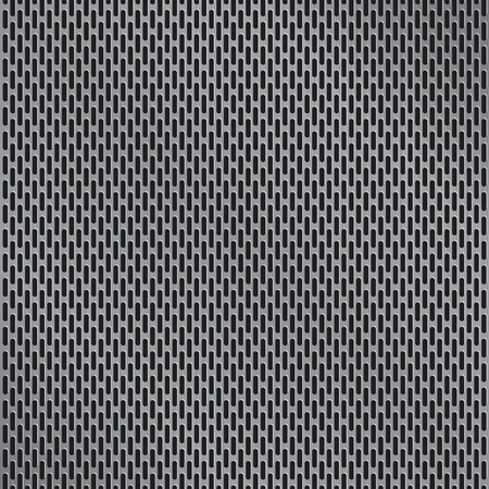 Aluminum grate background vector Ilustracja
