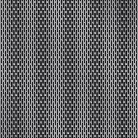 Aluminum grate background vector Vettoriali