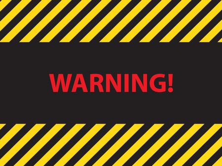 dangerous: warning dangerous sign, illustration vector