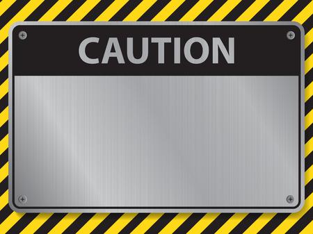 Caution sign, illustration vector