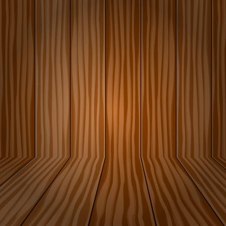 wooden floors: Vector vintage with wooden floors