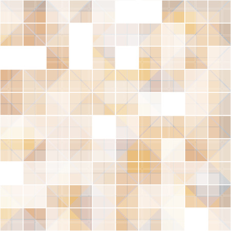 overlapped: abstract square at overlapped, brown tone background vector