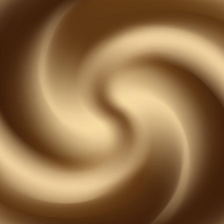 chocolate swirl: white coffee or chocolate and milk swirl background